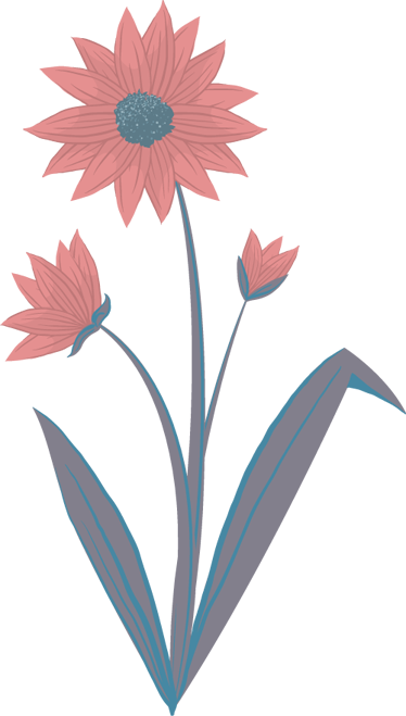 TenStickers. Sticker fleur rose feuilles. Personnalisez les murs de votre maison et apportez une touche florale à votre décoration avec cette élégante fleur sur sticker.