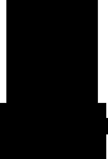 wall sticker albero di natale stilizzato - tenstickers