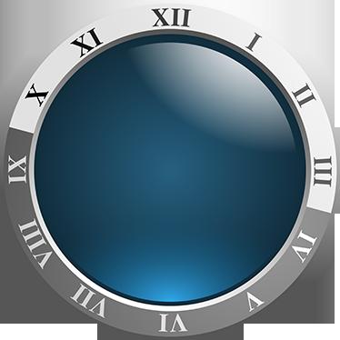 TenStickers. 현대 로마 숫자 시계 스티커. 벽시계-고전적인 스타일의 현대적인 디자인. 간단하고 독특하며 집 꾸미기에 이상적입니다. 어떤 방에도 완벽