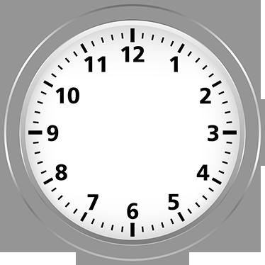 TenStickers. Sticker horloge salon. Sticker horloge réaliste pour toujours être à l'heure, avec un design classique qui durera teste du temps! Achetez maintenant!