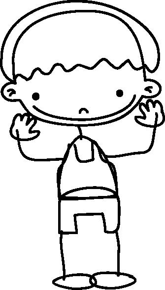 TENSTICKERS. 喜んで手を振っている少年のステッカー. 手を振っている少年の非常に友好的なステッカー。あなたの子供の部屋を飾って、それがもっとあるべきように見えるようにする素晴らしいデカール!