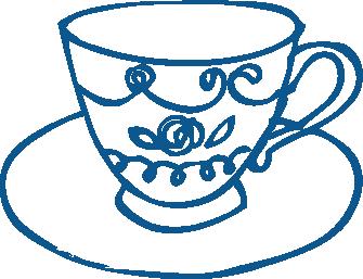 TenStickers. 차 세트 컵 벽 스티커. 부엌 벽 스티커는 괜 찮 아 요 차 잔을 표시합니다. 부엌, 식당 또는 거실 꾸미기에 이상적 - 휴식을 취하고 차를 마시는 곳이면 어디든 좋습니다. 그 고상한 감각을 가정 장식에 추가하고 마침내 벽에 빈 공간을 채우기에 완벽한 곳입니다.