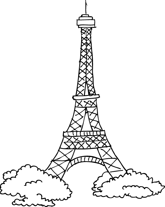 Tour Eiffel Dessin Dailymotion
