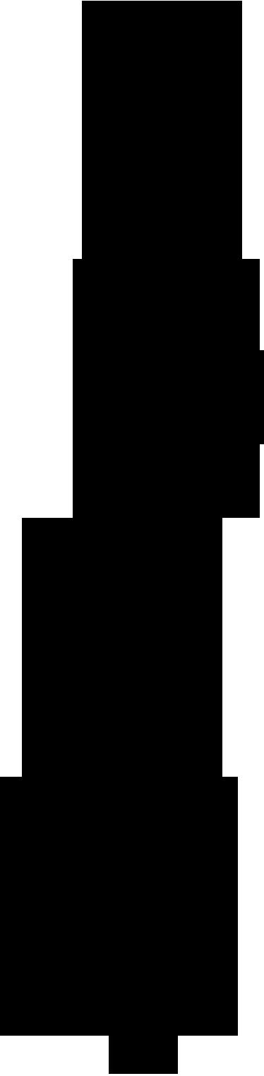 TenStickers. Sticker silhouette bambou. Donnez une touche exotique à votre décoration avec cet élégant bambou stylisé sur sticker. Adepte du feng-shui, du yoga et de la méditation ? Cette illustration est faite pour vous.