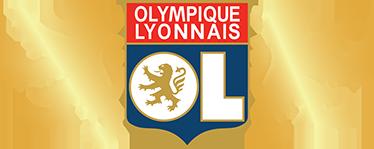 TenStickers. Sticker écusson OL. L'emblème de l'Olympique Lyonnais sur sticker pour personnaliser votre espace et soutenir votre équipe de foot favorite.