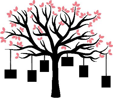 TenStickers. Sticker cadres arbre famille. Décorez les murs de votre maison en accrochant vos photos de famille favorites à cet original arbre sur sticker. +50 Couleurs Disponibles.