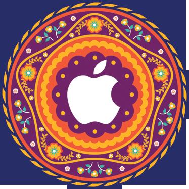 TenStickers. Sticker Apple mandala fleur. Personnalisez votre MacBook avec ce spectaculaire autocollant d'inspiration orientale. Un design détaillé et élégant pour faire de votre ordinateur un accessoire personnalisé unique.