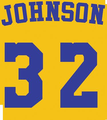 TENSTICKERS. マジックジョンソンナンバーステッカー. あなたは80年代のロサンゼルスレイカーズのファンでしたか?お気に入りの選手は32番を着ましたか?これがあなたが探していたステッカーです。