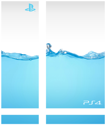 TenStickers. Blue Water PlayStation 4 Skin. Water Drop Blue PS4 Skins - Make your PS4 distinctive with this cool blue water design. Our PS4 wraps are made easy to apply.