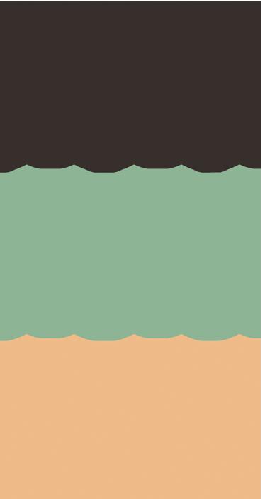 Gekleurde druppels sticker