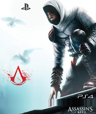 TenStickers. Sticker PS4 Assassin's Creed. Fan du jeu vidéo Assassin's Creed ? Ce sticker est fait pour vous ! Personnalisez votre PS4 avec le sticker de l'un des jeux les plus vendus et faites de votre console un accessoire unique.