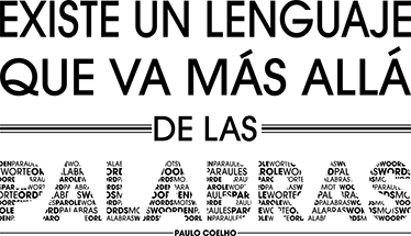 TenVinilo. Vinilo de texto más allá de las palabras coelho. Vinilo decorativo con una frase motivacional de Paulo Coelho ideal para decorar tu hogar de forma original. Compra Online Segura y Garantizada.