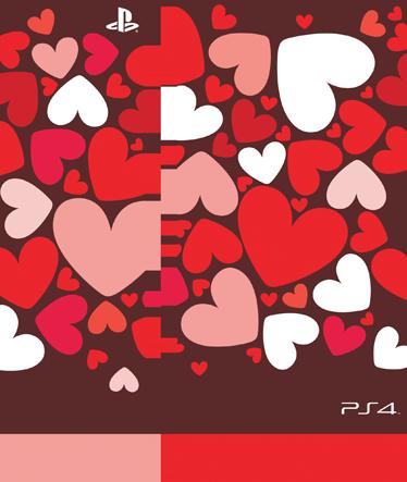 TenStickers. Sticker PS4 coeurs. Habillez votre console d'un romantique sticker orné de coeurs rouges, roses et blancs. Une façon originale de personnaliser votre PlaySation et de faire de votre PS4un accessoire unique.