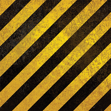 TenStickers. Caution Yellow & Black LACK Decal. Decals - Decorate plain and dull furniture with this yellow and black diagonal strips decal. Ideal for customising IKEA furniture.