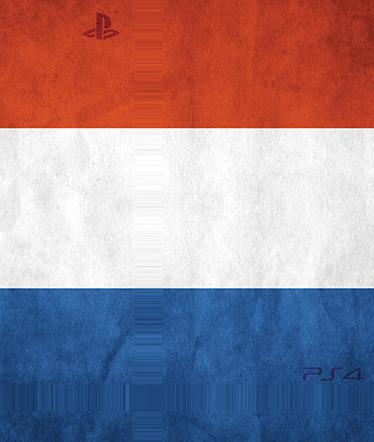 TENSTICKERS. オランダのプレイステーション4スキン. Ps4スキン。この高品質のデカールビニールでプレイステーション4コンソールをカスタマイズします。オランダの旗のデザイン。あなたのps4を飾り、保護する