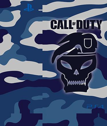 TenVinilo. Vinilo PlayStation 4 Call Of Duty. Pegatina decorativa para tu PlayStation 4 de el clásico shooter Call Of Duty. Personaliza tu PS4 con este sticker de camuflaje militar y crea una pieza única y diferente al resto.