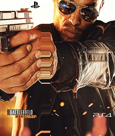 TenStickers. Autocolante Skin para ps4 Battlefield Hardline Color. Se és fã do famoso jogo Battlefield Hardline então esta skin autocolante para ps4 foi feita a pensar em ti! Fácil de aplicar sem bolhas ou vincos.