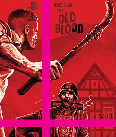 TenStickers. Autocolante Skin para ps4 Wolfenstein The Old Blood. Skin para PS4 do jogo Wolfenstein The Old Blood é perfeita para tornar a tua PS4 numa consola exclusiva, original e super personalizada!