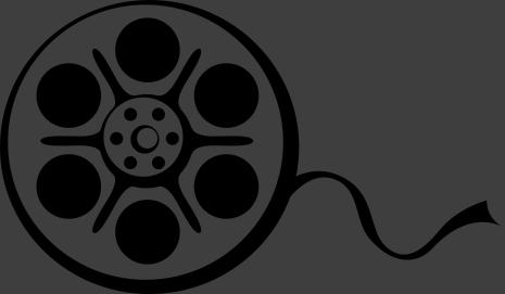 TenStickers. Filmrolle Aufkleber. Dekorieren Sie Ihre Wand mit diesem interessanten Rollfilm Wandtattoo. Dieser Sticker ist ideal für Ihr Heimkino.
