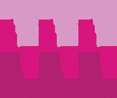 TENSTICKERS. ピンクの幾何学的な正方形のステッカー. さまざまなサイズと色の正方形のトレンディなステッカー。このニュートラルでシンプルなデザインで、家の部屋を飾ってください。
