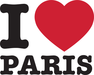 TenStickers. I Love Paris Sticker. A great travel wall sticker for those that love to travel! Have you been to Paris? Planning to go on Valentine's Day?
