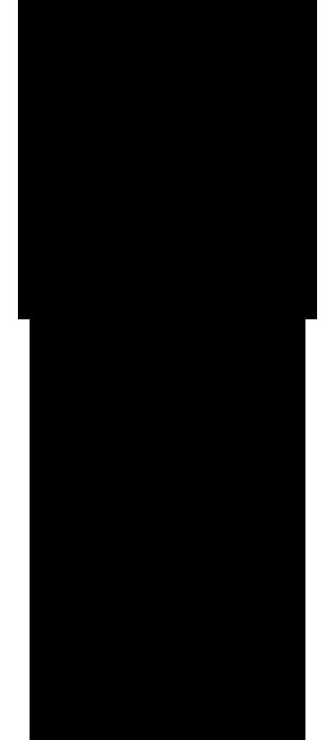 """TenStickers. Adesivo In vino veritas. Wall sticker decorativo che raffigura la silhouette di un calice di vino con la scritta in inglese in """"Wine there is the truth""""."""