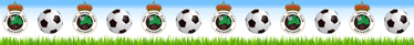 TenVinilo. Vinilo decorativo Cenefa Racing Santander. Vinilo decorativo para los jóvenes aficionados a este histórico y emblemático club cántabro con un diseño exclusivo.