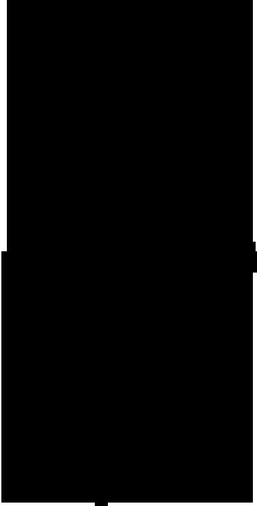 TenStickers. Sticker silhouette danse ballet. Sticker décoratif représentant une jeune danseuse de ballet vêtue de son tutu, en pleine répétition.