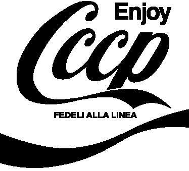 TenVinilo. Vinilo decorativo enjoy cccp. Adhesivo con el logotipo de un reconocido grupo de punk rock italiano.