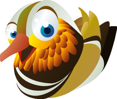 TenVinilo. Vinilo paloma. Vinilo infantilápara la personalización de habitaciones de niños a los que les gusten los animales. Pegatina de una colorida paloma.