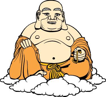 TenStickers. Tekening dikke Boeddha sticker. Bestel hier deze muursticker van een tekening van een dikke Boeddha! Je kunt de sticker bestellen in het formaat dat jij het liefste wilt!