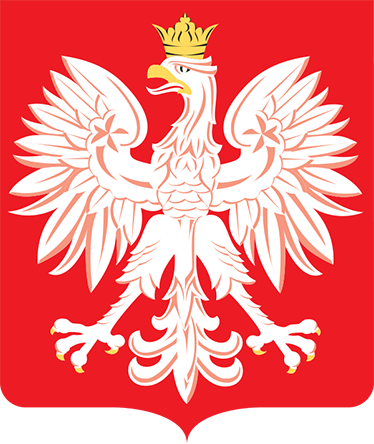 TenStickers. Coat of arms of Poland flag decal. Coat of arms of Poland flag wall decal to decorate any space of choice. It is available in any required size and it is self adhesive.