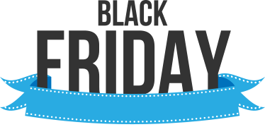 TenStickers. Black Friday Sticker. Black Friday Sign Sticker to display in your store. The shop window sticker will promote your discounts this November on Black Friday.