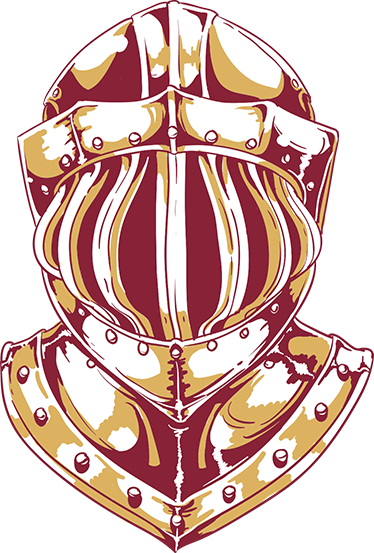 TenStickers. Knight's Helmet Sticker. Spectacular decorative sticker with a great design of a medieval knight's helmet.