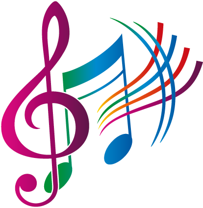 TenStickers. Autocolantes decorativos Musicais Notas Coloridas. Espalha a tua paixão pela música pelas paredes da tua casa ou negócio com este espetacular adesivo decorativo musicalde notas musicais!