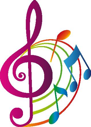 TENSTICKERS. カラフルな音符のデカール. 美しいパターンでカラフルな音符を示す素晴らしい音楽壁のステッカー!あなたの家、教室、音楽スタジオの壁に生命と色をもたらすための活気に満ちた音楽デカールです。この華やかなピンク、オレンジ、グリーン、ブルーのステッカーはあなたの家の装飾が欠けているものです。
