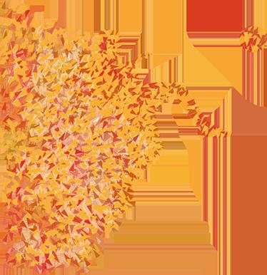 TenVinilo. Vinilo decorativo futbolista origami. Vinilos decorativos juveniles con un espectacular y colorido diseño de un jugador de fútbol en pleno remate.