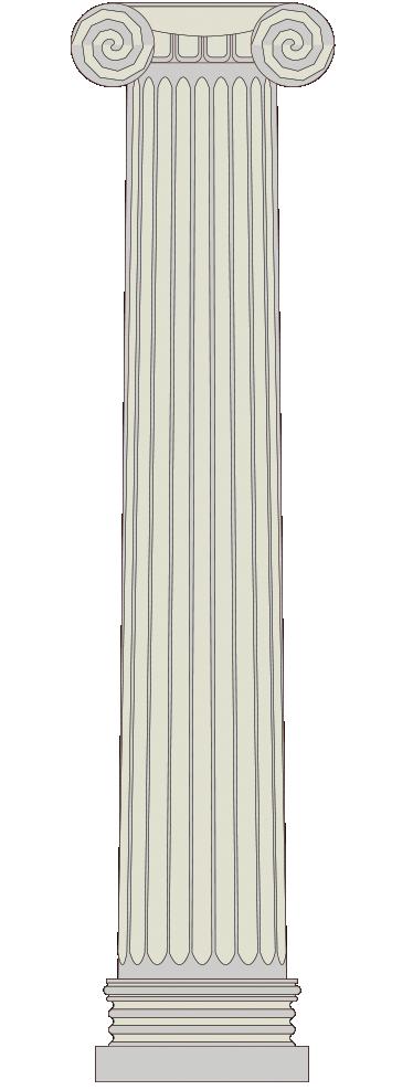 TENSTICKERS. ギリシャの列ステッカー. 美しい古代ギリシャの柱の壁飾り。部屋をクラシックで現代的な外観にして、家を際立たせることができます。