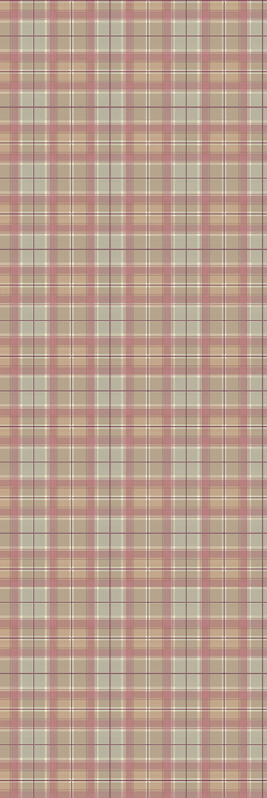 TenStickers. Tartan Texture Fridge Sticker. Fridge sticker with a recreation of a tartan pattern, traditionally associated with Scotland.