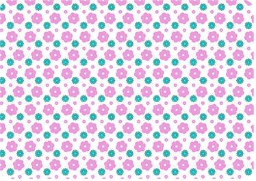 TenStickers. Pink Floral Pattern Laptop Sticker. This pink floral laptop sticker helps keep your laptop clean, maintaining the laptop in near perfect condition.