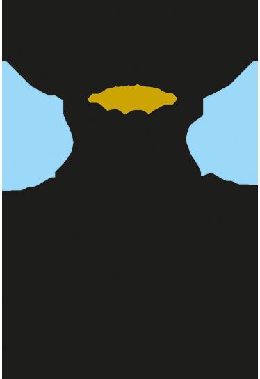 """TenStickers. Sticker les amis sont les anges. Sticker texte attachant """"les amis sont les anges qui nous soulèvent quand nos ailes n'arrivent plus à se rappeler comment voler."""
