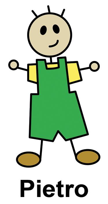 TenStickers. Adesivo Bambino Personalizzabile. Adesivo decorativo per bambini personalizzabile che raffigura un bambino che può essere personalizzabile con il nome di vostro figlio.