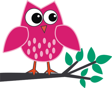 pink owl kids sticker - Owl Pictures For Kids
