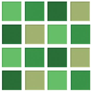 Vinilo Azulejos Tonos Verdes Tenvinilo - Tonos-verde