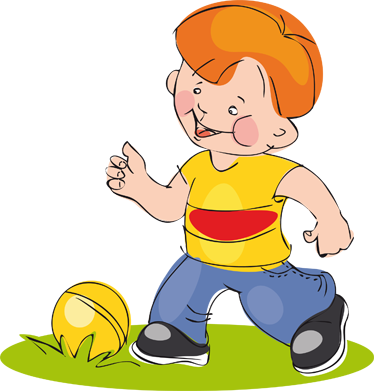 TenStickers. Little Footballer Kids Sticker. Kids Stickers - A small boy playing with his ball. Great decor idea for boys´rooms and other play areas.