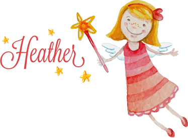 TenStickers. Fairy with Personalised Name Wall Sticker. A wall sticker with a sweet illustration of a fairy holding a magic wand. Customise this decal with any name that you like to make it more personal