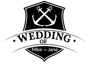 TENSTICKERS. カスタマイズ可能なセーラーウェディングステッカー. あなたの結婚式はスタイリッシュでモダンな航海をテーマにしていますか?もしそうなら、このステッカーはあなたの結婚式の装飾に最後の仕上げに最適です。
