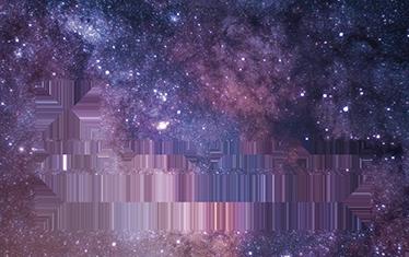 TenStickers. Adesivo carta di credito universo. Personalizza la tua carta di credito con un adesivo raffigurante la fotografia dello spazio.Stickers con i quali differenziare la tua carta!