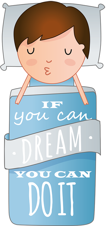 "TenStickers. Wandtattoo If you can dream it zou can do it. Schöner wohnen leicht gemacht mit diesem trendigen Wandtattoo ""If you can dream it you can do it""."