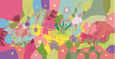 TenStickers. Nálepka nálepky aloha hawaii. Hawaii aloha wall sticker - nálepka textu je v barevném květinovém písmu obklopeném květinami a listy. Tato nálepka s exotickými květy může během několika minut přeměnit hladkou a nudnou stěnu!